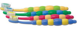 Oral Choice® Childrens Bubble Handle® Toothbrush