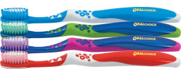 Oral Choice® Pre-Teen Juno® Toothbrush