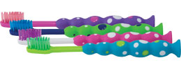 Oral Choice® Childrens Bubble Dot® Toothbrush